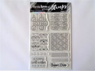 Dapper Chap Stamp Set - A6
