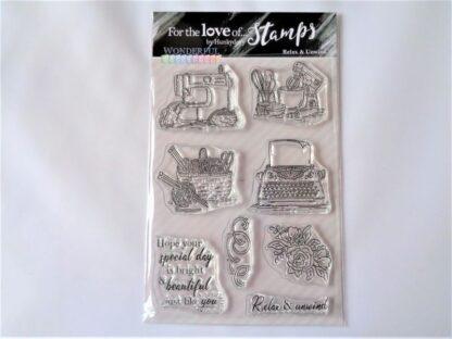 Relax & Unwind Stamp Set - A6