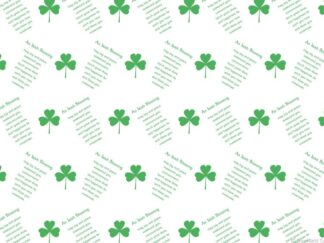 Irish Blessing Friday Freebie Printable Paper