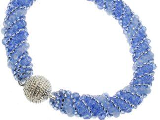 Russian Spiral 4 - Blue Jewellery Making Kit