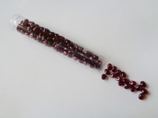Superduo Beads - Transparent Red Wine