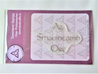 Ag Smaoineamh Ort Stamp - A7 Clear Photopolymer.