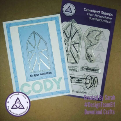 Special Day A6 Stamp Set Card Sample