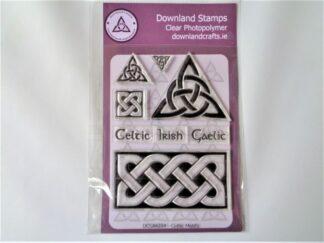 Celtic Motifs Stamp Set - A6 Clear Photopolymer