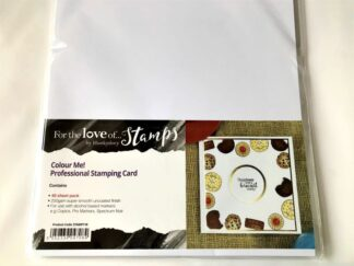 Colour Me Stamping Card
