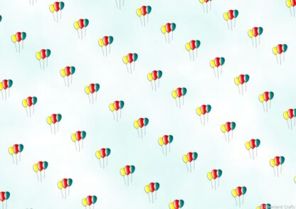 Birthday Balloons Friday Freebie Printable Paper Download