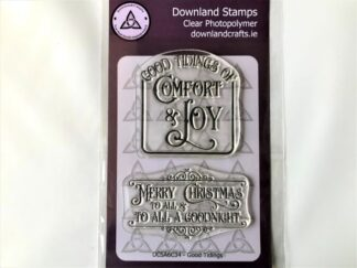 Good Tidings Stamp Set - A6 Clear Photopolymer
