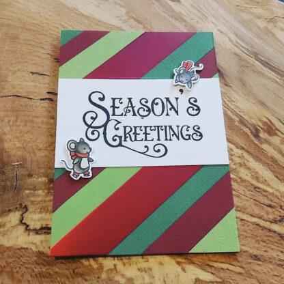Festive Greetings A6 Card Sample
