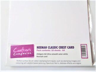 Neenah Classic Crest Card