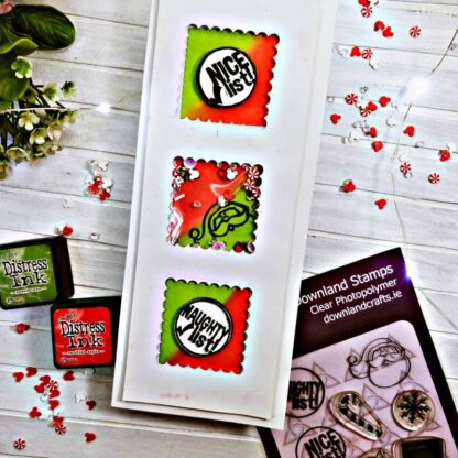 Santa Post A6 Card Sample