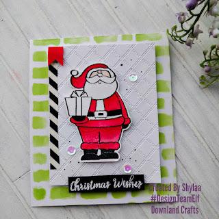 Dear Santa A6 Card Sample