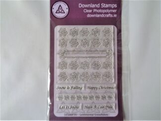 Sentimental Snowflakes Stamp Set - A6 Clear Photopolymer