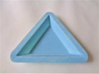 Triangle Sorting Tray - Flocked