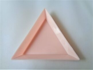 Triangle Sorting Tray - Pink