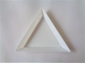 Triangle Sorting Tray - White