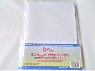 A5 Cards - White 300gsm