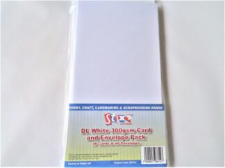 DL Cards - White 300gsm